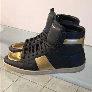 Saint Laurent Court Classic High Top Sneaker